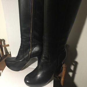 Michael Kors size 8 women's platform boots